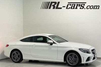Mercedes-Benz C 220 D Coupe Aut./AMG-Sport/LED/Navi-Widescreen/Leder bei RL-Cars Gmbh in