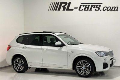 BMW X3 xDrive35D M-Sport Aut./Panorama/Kurvenlicht/AHK bei RL-Cars Gmbh in