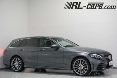 Mercedes-Benz C 200 D T Aut./AMG-Paket/Navi/LED/Leder/AHK/LEASING bei RL-Cars Gmbh in